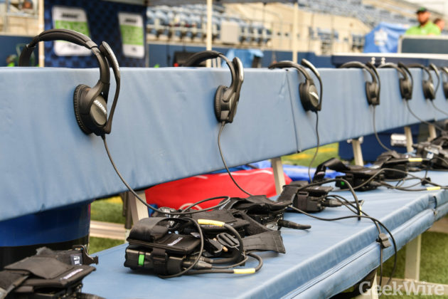 NFL coach headsets